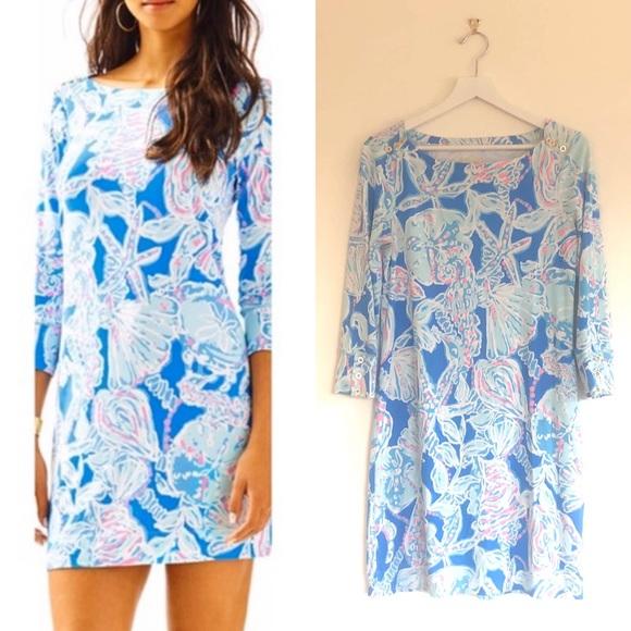 LP UPF 50 Bay Blue Into the Deep Sophie Dress